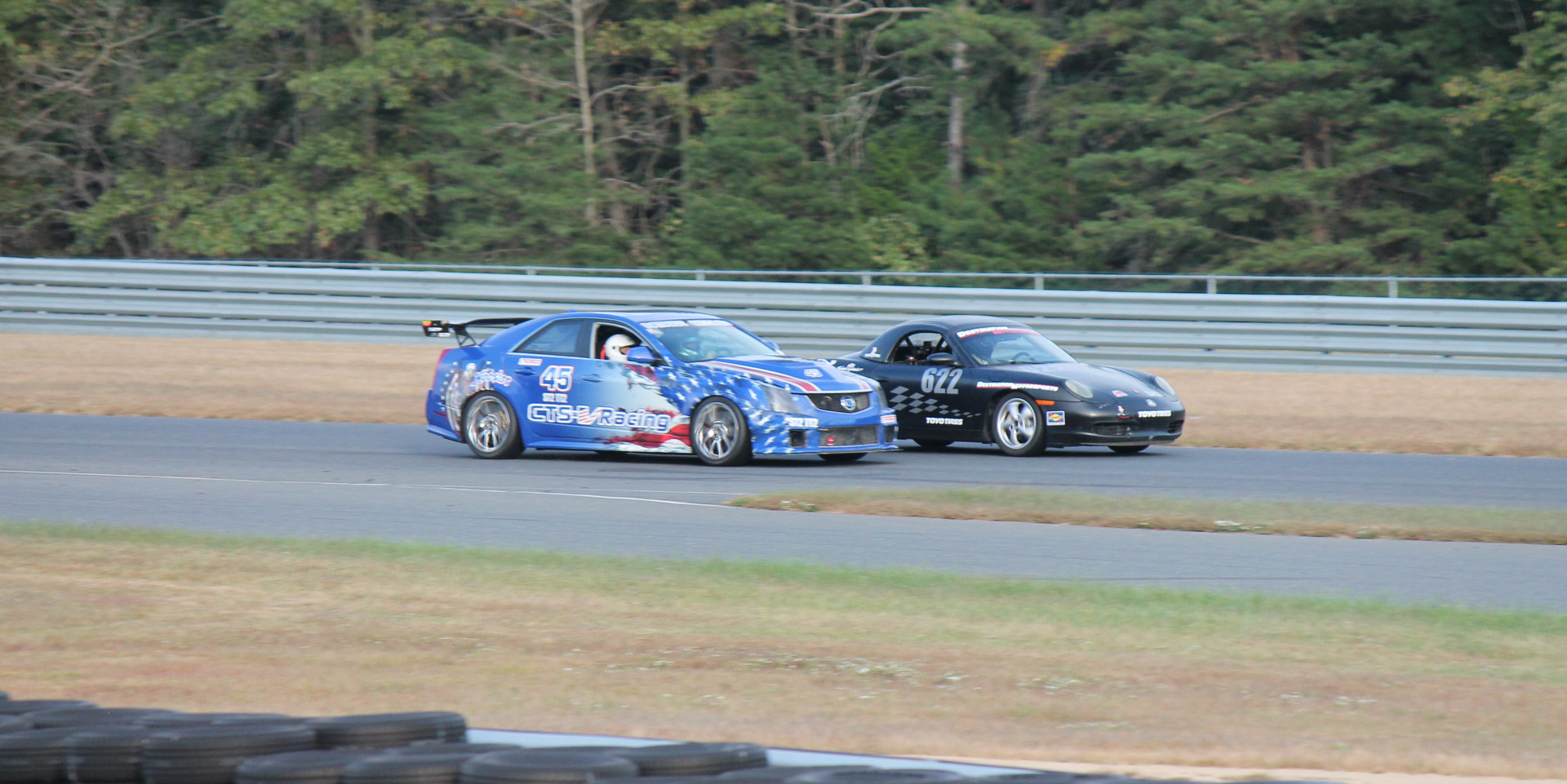 Some competition for the Patriot Missile on track at NJMP to race with PCA (10-9-2017)