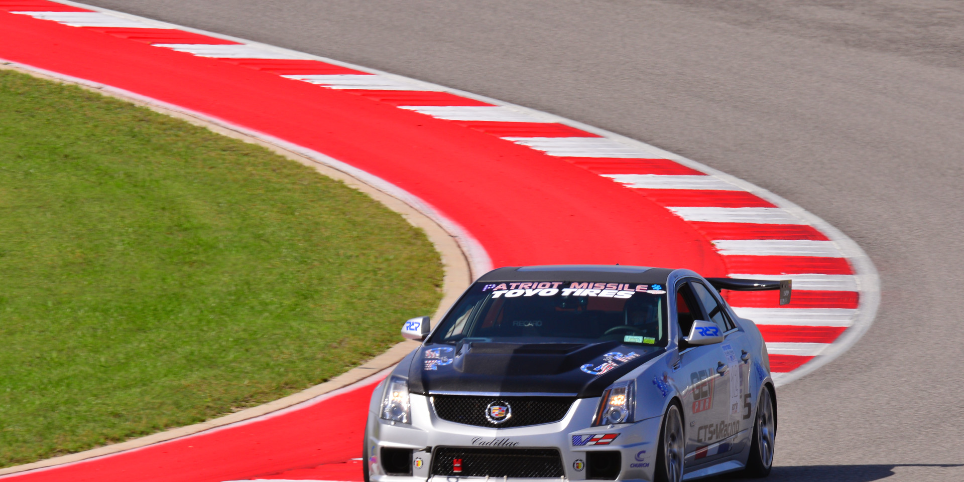 On track at the Cadillac Challenge at COTA (4-25-2015)