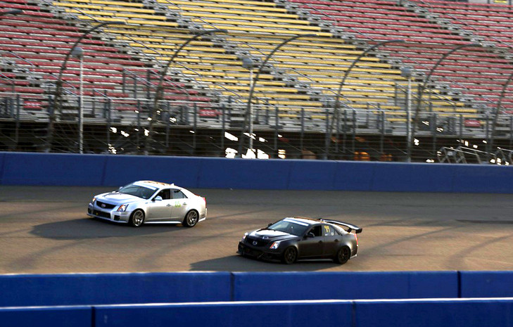 Cadillac Challenge: Rd 1 at Auto Club Speedway (3-24-12)