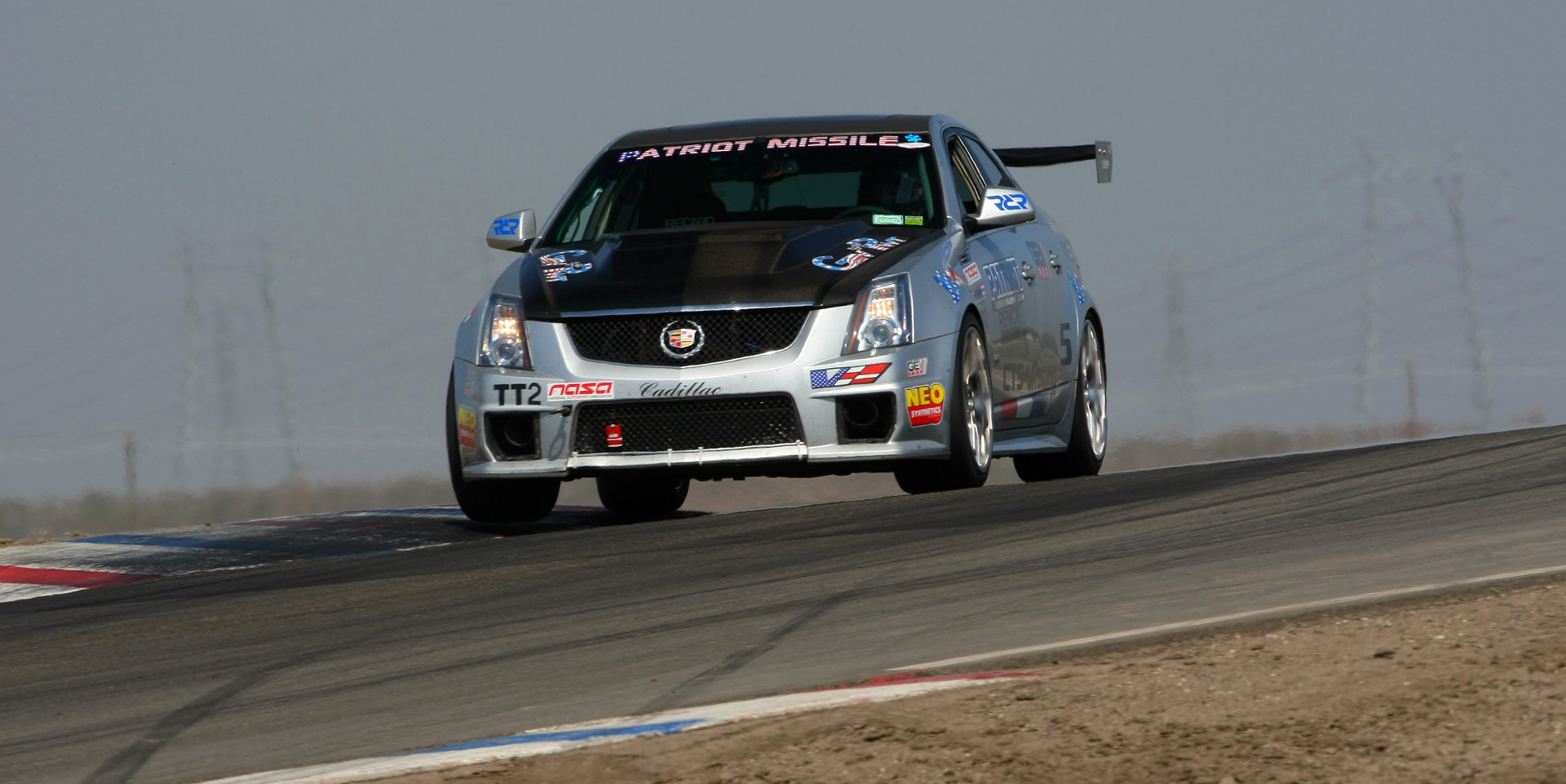 CTS-V Racing on track at Cadillac Challenge: Round 2 at Buttonwillow (3-8-2015)
