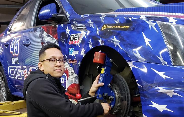 JRox Fender Rolling of NJ working hard on the Patriot Missile (Feb 2019)
