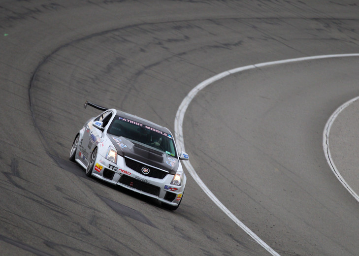 The Patriot Missile on track at Cadillac Challenge: Round 1 at Autoclub Speedway (2-22-2015)