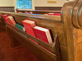 Main Street UMC pew - questions about our church