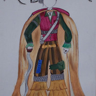 COSTUME DESIGN FOR THEATRE SHOW: A DOLLAR
