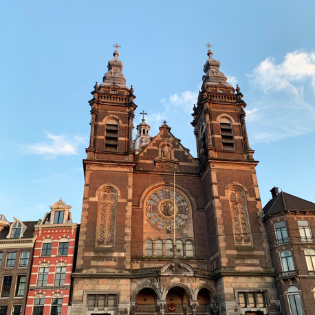 ST. NICHOLAS CATHEDERAL AT AMSTERDAM, THE NETHERLANDS