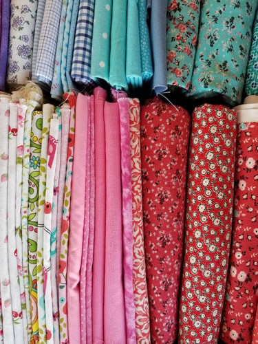 Fabric choices from my stash