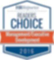 HR Reporter Readers Choice Award 2016 Management/Executive Development