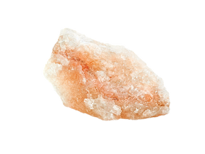 a block of Himalayan pink salt