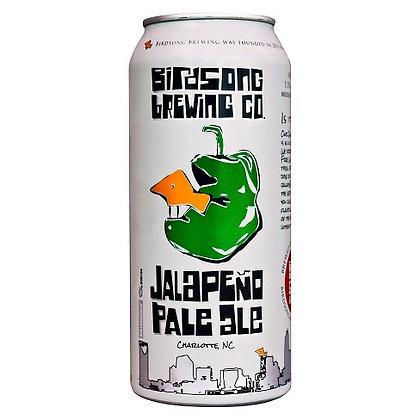 4 pack Birdsong Jalapeno Pale Ale