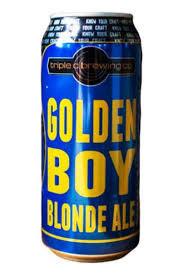 4 pack Triple C Golden Boy Blonde Ale