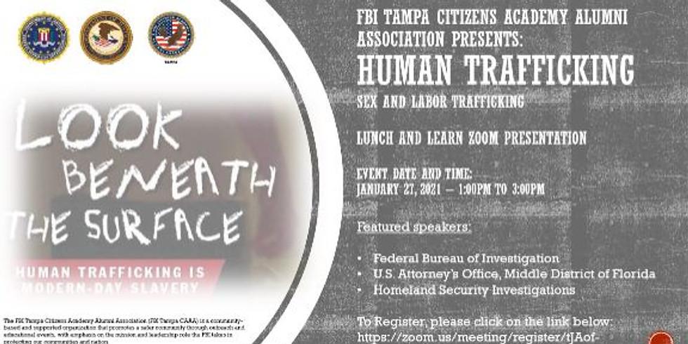 FBI's Human Trafficking Lunch & Learn