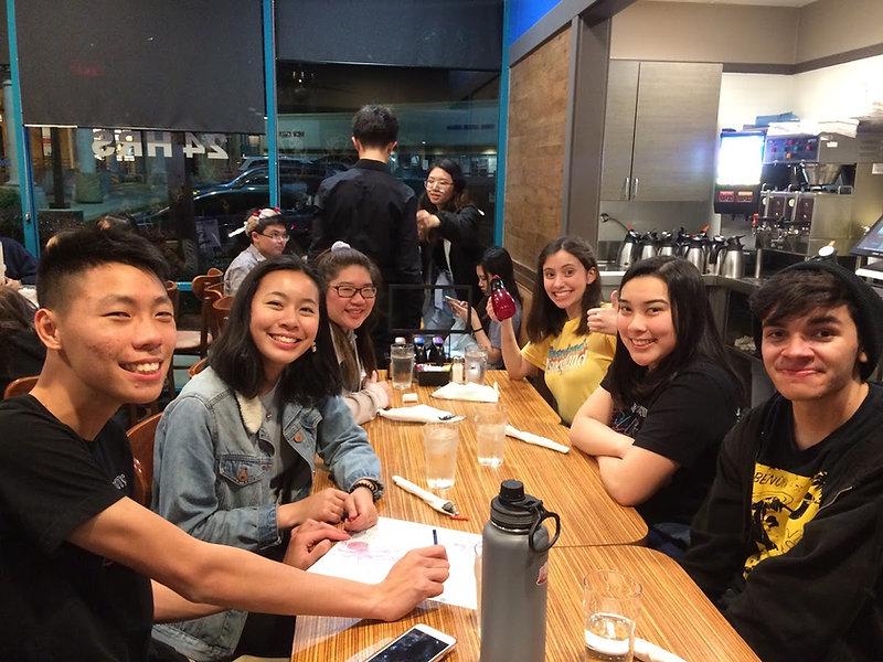 Freaky Friday Cast And Crew Dinner.JPG