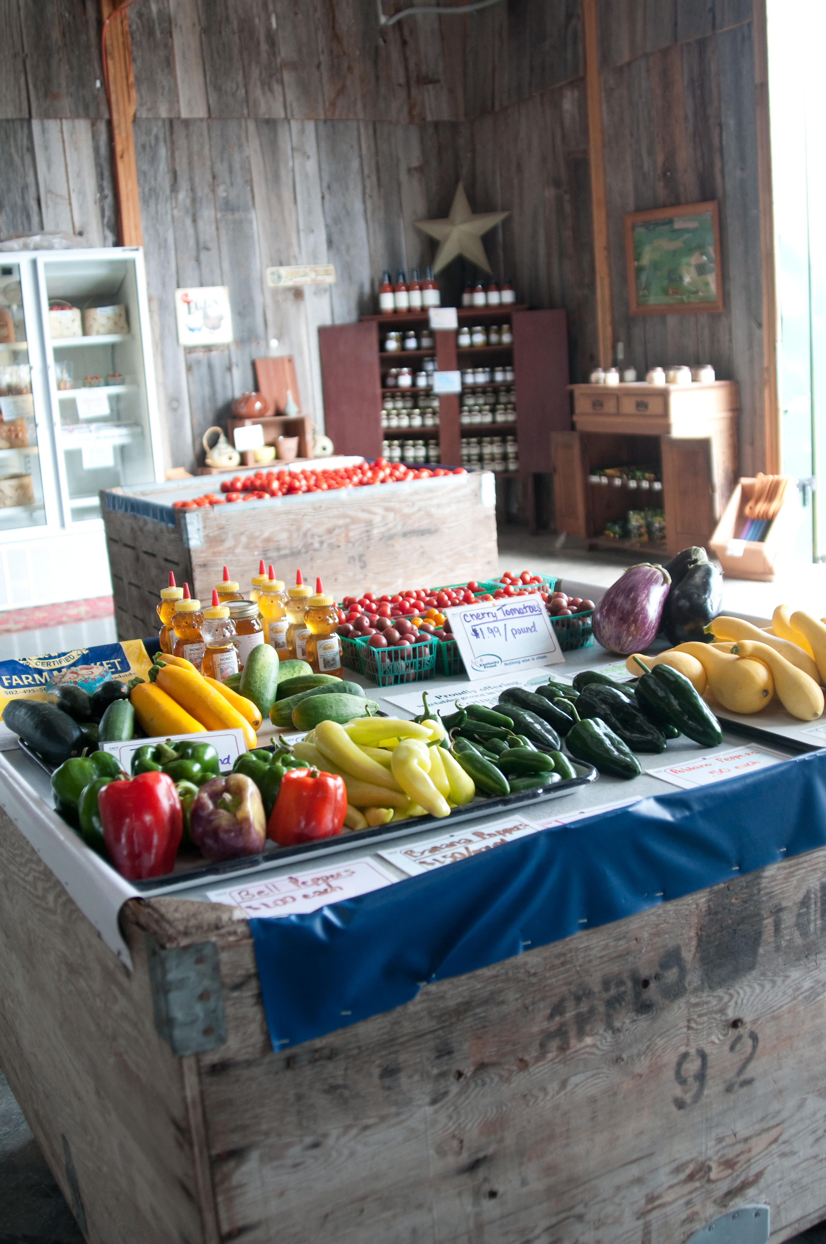 Tons of Local Produce