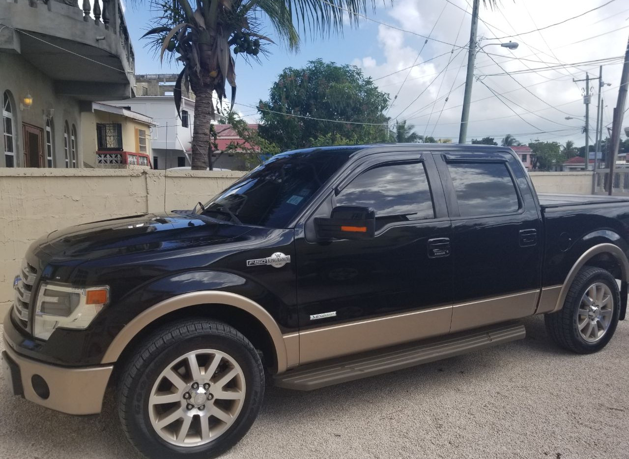 2014 Ford F-150 King Ranch Edition, Car Guys Belize