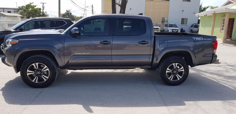 2017 Toyota Tacoma, Car Guys Belize