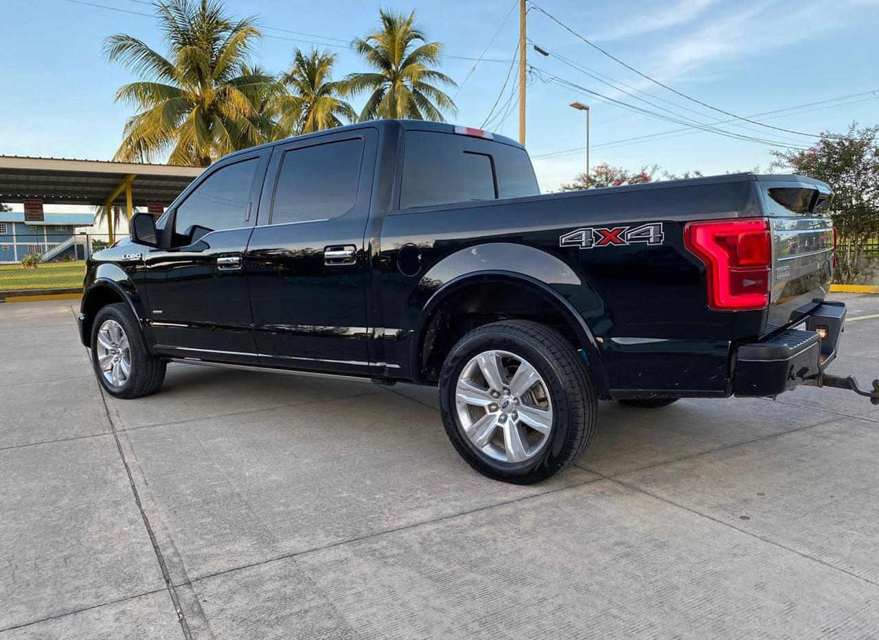 2016 Ford F-150 Platinum 4x4, Car Guys Belize Ltd.