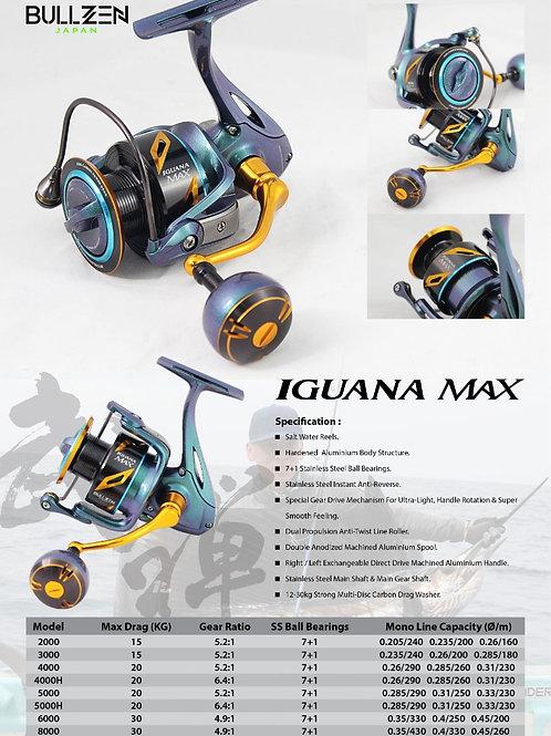 BULLZEN Japan Iguana Max