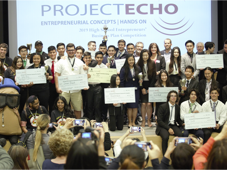 Congratulations to the 2019 High School Entrepreneurs' Business Plan Competition Winning Teams!