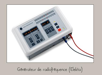 Générateur radiofréquence Elekta