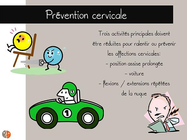 Prévention cervicale