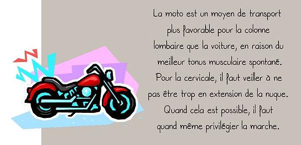 Prévention colonne: Moto