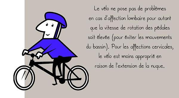Prévention colonne: Vélo