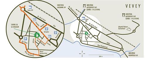 Centre de la Douleur Riviera: Plan d'accès