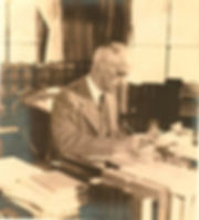 Harvey Cushing écrivant