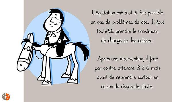 Prévention colonne: Equitation
