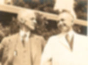Harvey Cushing et Gunnar Nyström