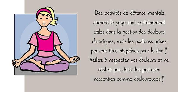 Prévention colonne: Yoga