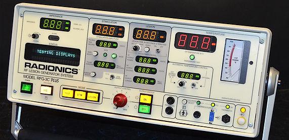 Appareil à radiofréquences de Radionics