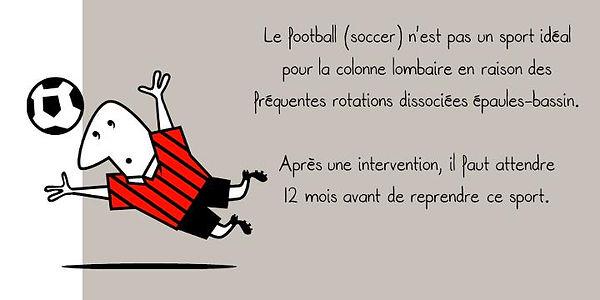 Prévention colonne: Football