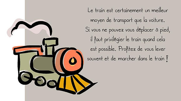 Prévention colonne: Train
