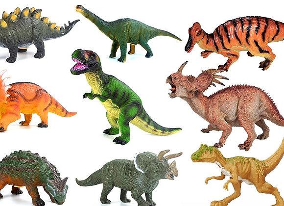 דף טרנספר לעוגה דינוזאורים 6805