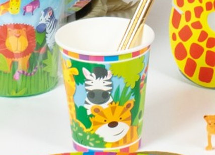 כוסות שתיה חיות בג'ונגל