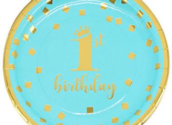 צלחת קטנה יום הולדת גיל שנה