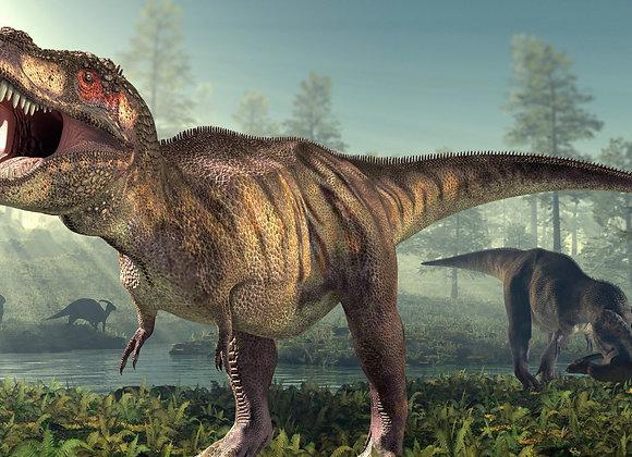 דף אכיל לעוגה דינוזאורים 6810
