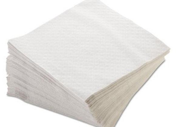 מפית דו שכבתית צבע לבן 50 יחידות