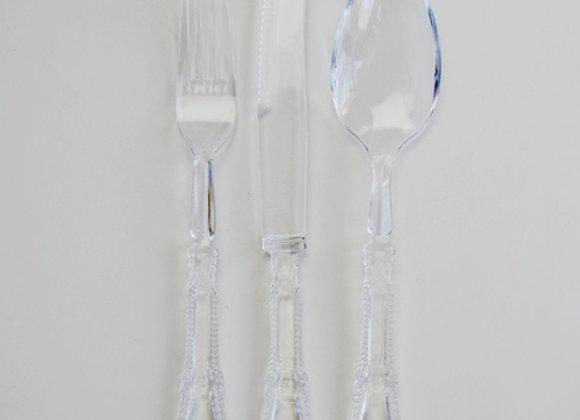 סכין יוקרתית  צבע שקוף קשיח מאוד וינטג