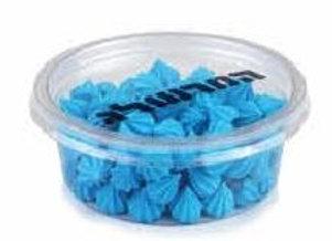 נשיקות מיני כחולות לקישוט עוגה