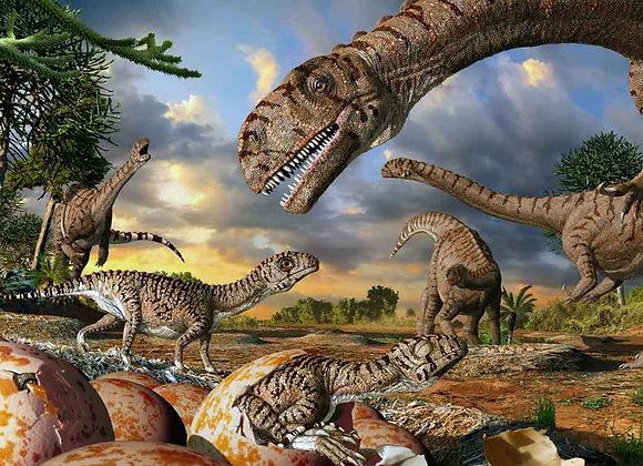 דף אכיל לעוגה דינוזאורים 6802