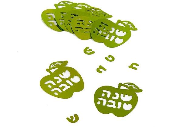 קונפטי שנה טובה ירוק