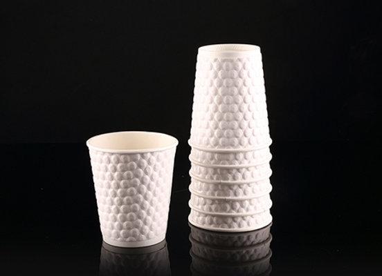כוסות בועה צבע לבן עבות מאוד
