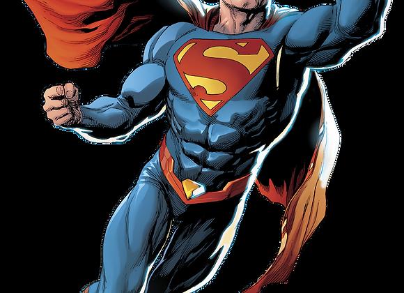 דף אכיל לעוגה סופרמן 7136