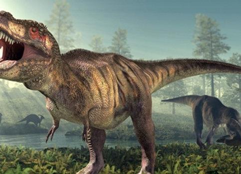 דף אכיל לעוגה דינוזאורים