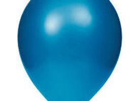 בלון מטאלי כחול עם הליום