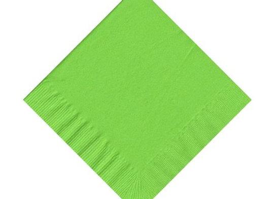 מפית דו שכבתית צבע ירוק בהיר 50 יחידות