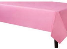 מפת שולחן  ורודה אלבד 2.70 מטר 1.20 רוחב