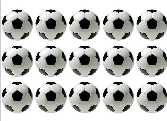 דף אכיל לקאפקייקס כדורגל 721